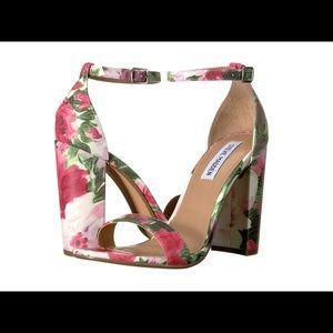 Steve Madden floral sandal pump